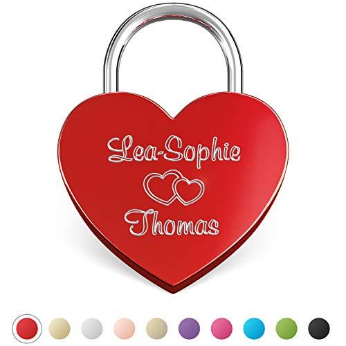 lucchetto personalizzato cuore