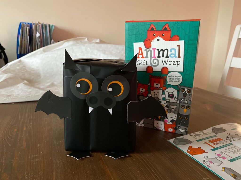 Pacchetto regalo a forma di Pipistrello