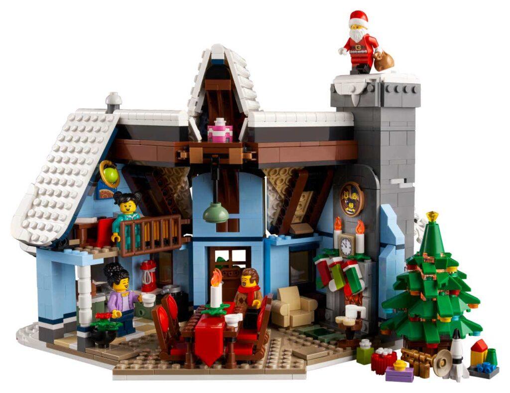 la-visita-di-babbo-natale LEGO