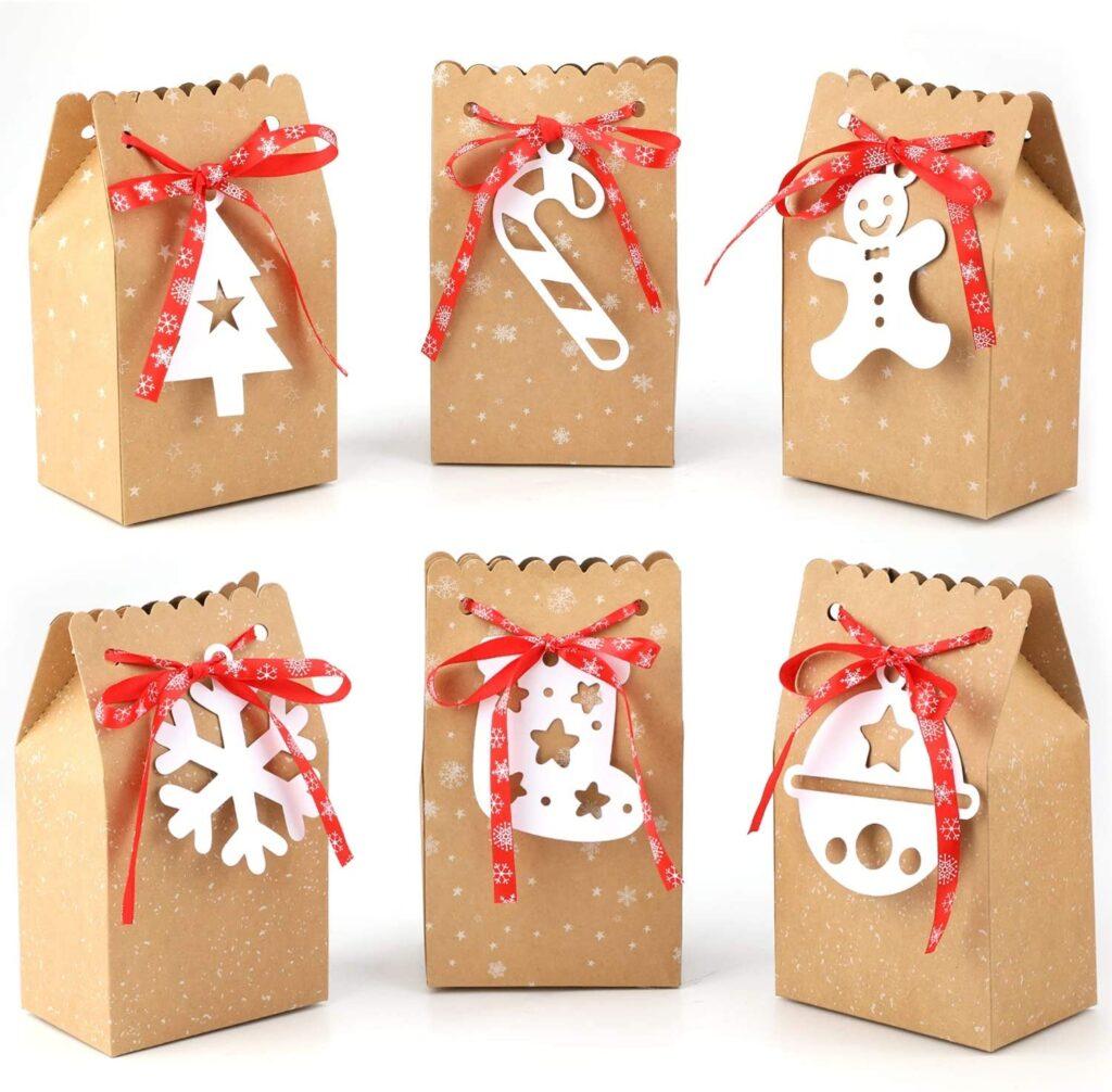 sacchettino Natale carta kraft